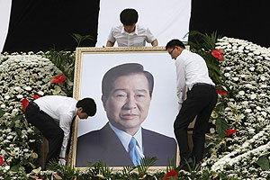 เกาหลีใต้ไฟเขียวโสมแดงส่งคนร่วมงานศพคิม