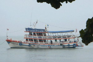 เรือโดยสารสตูล-เปอร์ลิสถูกคลื่นซัดจมกลางทะเล