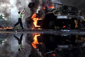 เสาร์-อาทิตย์วิปโยค ภาพข่าวเล่าเหตุการณ์ไทยเผาไทย