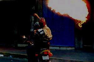 ป่วน!ปาระเบิดเพลิงกาดหลวงชม.ไร้เจ็บ