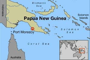 ดินไหว6.2ริกเตอร์หมู่เกาะ ปาปัวนิวกินี