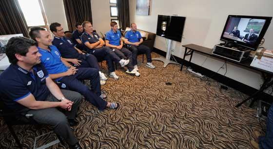 เจ้าชายวิลเลียมส์ประชุมจัดบอลโลกอังกฤษ