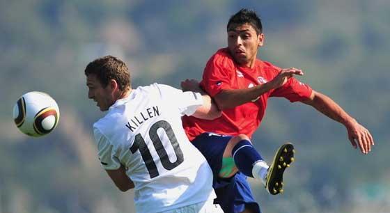 ชิลีชนะนิวซีแลนด์ 2-0อุ่นบอลโลก