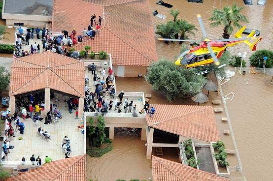 วิกฤต! ภาพน้ำท่วมฝรั่งเศส คนตายเพิ่ม 20 ราย