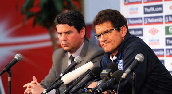FIFAจ่อสอบกรณีแถลงข่าวของอังกฤษ-เยอรมัน