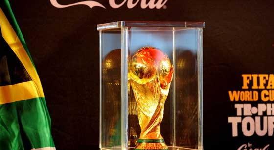 โจรแอฟริกาขโมยถ้วยจำลองแชมป์บอลโลก