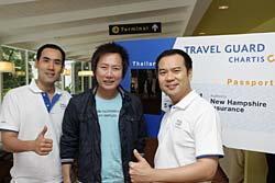 ชาร์ทิส ชู Travel Guard ขยายตลาดประกันภัยการเดินทาง