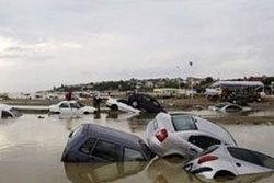 กรีซ น้ำท่วมเกาะ ประกาศสภาวะฉุกเฉิน