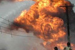 ระทึก!! ท่อส่งน้ำมันในพม่าระเิบิด ดับ 12 ศพ