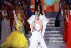 สาวอเมริกัน คว้ามงกุฏมิสเวิลด์ 2010