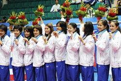 แบดสาวไทย พ่ายจีน ซิวเหรียญเงินเอเชี่ยนเกมส์