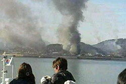 ระอุ! เกาหลีเหนือยิงถล่มเกาะเกาหลีใต้ ทหารดับ1