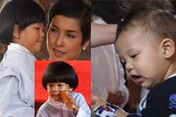 ภาำพน่ารักของน้องคุน น้องจุน วงศ์พัวพันธ์