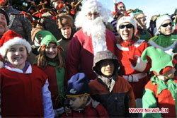 บรรยากาศ ในวันคริสมาสต์ ทั่วโลก