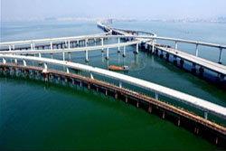 สะพานข้ามทะเลที่ยาวที่สุดของโลก