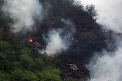บินปากีสถานตกกลางหุบเขา ตายแล้ว 152 คน