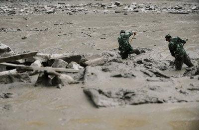 พบ28ศพหลังโคลนถล่ม2หมู่บ้านในปากีฯ