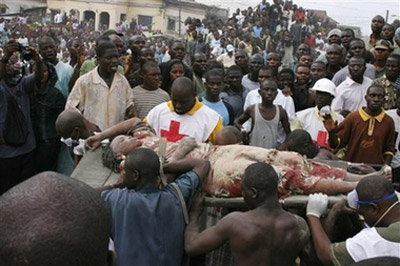 ตึก3ชั้นถล่มในไนจีเรียตาย 19 เจ็บอีก 12