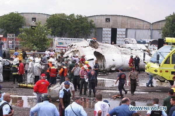 ระทึก! เครื่องบินเวเนซุเอลาตก ตาย 14 คน เจ็บ 33
