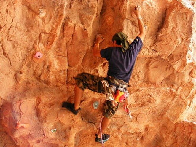 การแข่งขันปีนหน้าผา Master of The Rock 2010