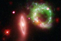 นาซ่าเผยภาพอัศจรรย์ วงแหวนอวกาศส่วางไสว