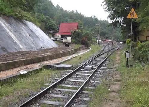 ปิดถ้ำขุนตาน จ.ลำปาง ซ่อมรางรถไฟแล้ว