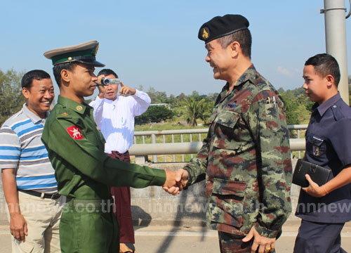 ไทย-พม่าร่วมปราบสิ่งผิดกฎหมาย