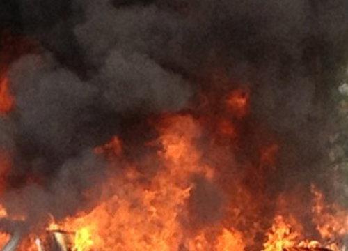 ไฟไหม้บ่อน้ำมันโรงงานชลบุรีคนหนีวุ่น