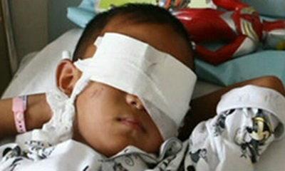 จีนปลื้ม! เด็กถูกควักลูกตา 2 ข้าง ได้ชีวิตใหม่กับตาเทียม
