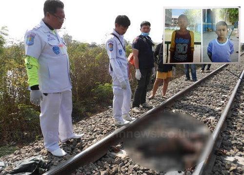 รถไฟชนเด็ก2ศพเชื่ออุบัติเหตุไม่ใช่ฆาตกรรม