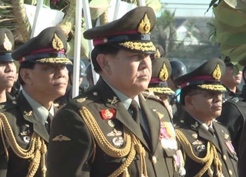 ผบ.สส.-ผบ.เหล่าทัพร่วมงานสถาปนาร.ร.เตรียมทหาร