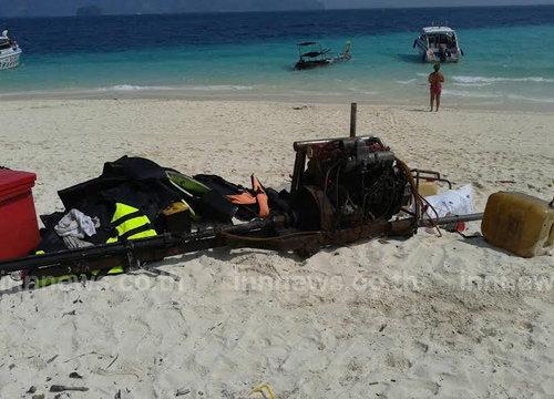 จนท.อุทยานหาดนพรัตน์ฯช่วย20ต่างชาติเรือรั่ว