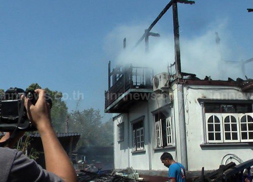 ไฟไหม้ตรุษจีนวันเดียว2รายซ้อนเสียหาย2ล.