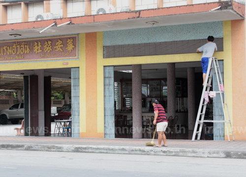 ชาวไทยเชื้อสายจีนยะลาคึกจับจ่ายซื้อของรับตรุษจีน