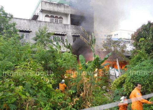 ไฟไหม้ชุมชนทุ่งเสาเขตเทศบาลนครหาดใหญ่