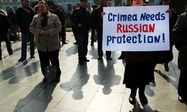 สภาไครเมียลงมติแยกตัวเป็นเอกราชจากยูเครนแล้ว