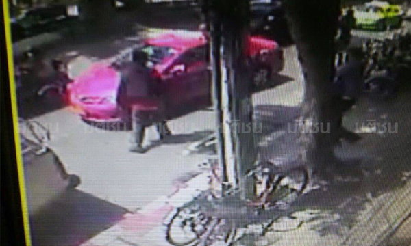 โจรปล้นแบงค์ธนชาต ล่าสุดตามแท็กซี่คนร้ายโบกขึ้นได้แล้ว