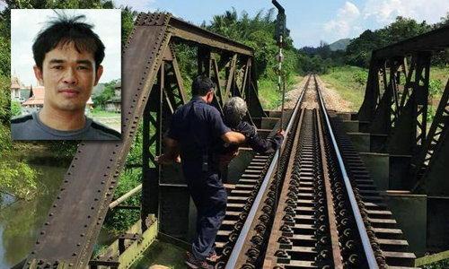 เปิดใจพนักงานหัวใจหล่อ หยุดรถไฟอุ้มคุณยายข้ามสะพาน