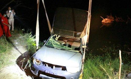 หนุ่มหายไปพร้อมรถ โผล่เป็นศพในน้ำ 10 วันต่อมา