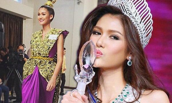 ประวัติ น้องแนท อนิพรณ์ สาวเจ้าของมงกุฎ  Miss Universe Thailand 2015