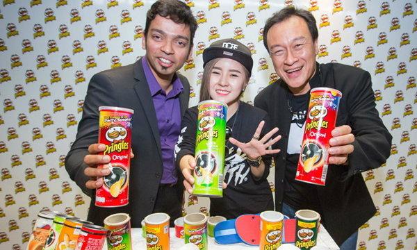 พริงเกิลส์ จัดแคมเปญ Pringles Amplified Music Contest