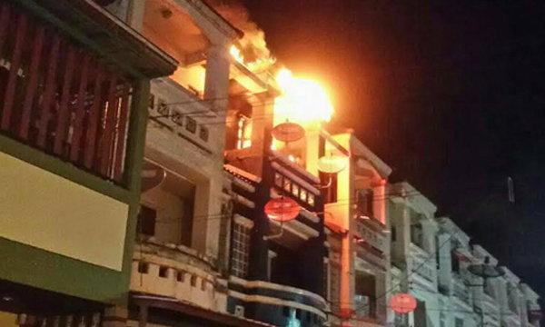 หนุ่มบ้านไฟไหม้ โทรหาแฟนครั้งสุดท้าย ก่อนสิ้นใจในกองเพลิง