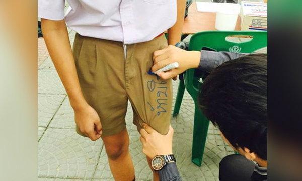 วิจารณ์สนั่น ครูทำโทษเอาปากกาเขียนกางเกงนักเรียน