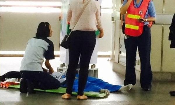 รถไฟฟ้าBTSระทึก เด็กพลัดตกรางสถานีกรุงธนบุรี