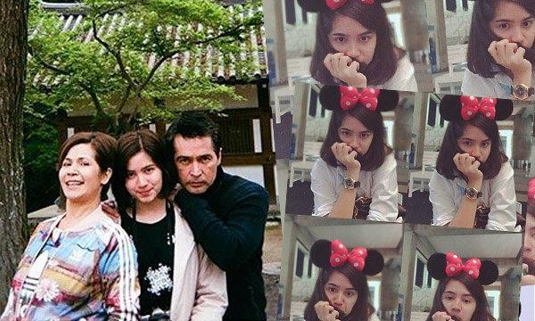 เจมี่ ลูกสาวคนกลางของ พ่อจอนนี่ แม่นก จริยา แอนโฟเน่