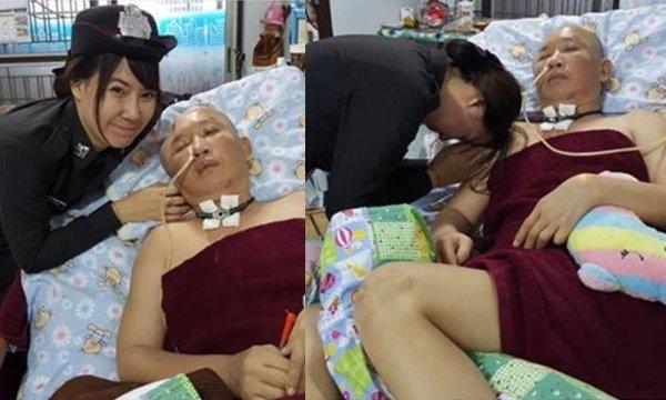 ไฟเขียว! ลูกสาวเป็นตร.แทนพ่อ หลังนอนนิทราจากการปราบยา