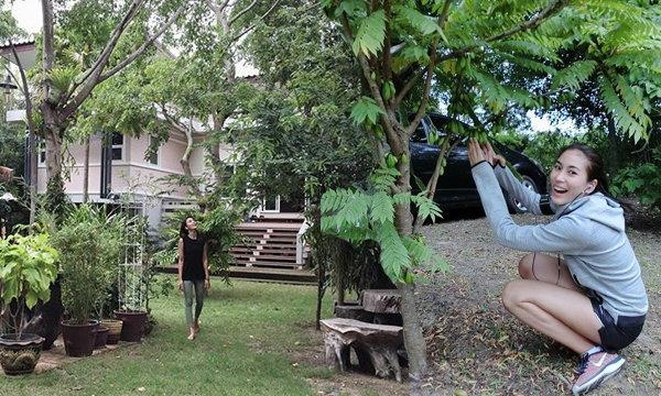 น่าอยู่มาก! บ้านในสวนร่มรื่นของจุ๋ย วรัทยา