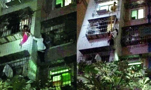 สาวจีนฮีโร่! ปีนตึก 5 ชั้นมือเปล่า ช่วยเด็ก 3 ขวบพลัดตกหน้าต่าง