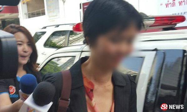 ยุติประเด็นฉาว ตำรวจเรียกเมียนายพลรถเบนซ์ สาวท้องมาขอโทษกันละกัน