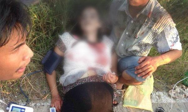 เศร้า สาวท้อง 8 เดือนกระเด็นตกจยย. ผ่าเด็กรอด แม่เสียชีวิต